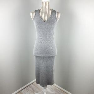Mossimo grey jersey knit dress  XS